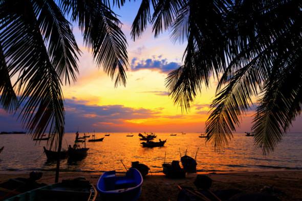 Det Indiske Ocean byder på sol, stand og krystalklart hav